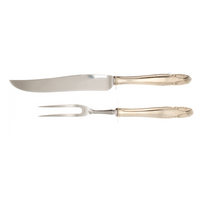Stradivari Sterling Silver Carving Set