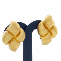 "Henry Dunay 18k Yellow Gold ""Sabi Collection"" Earrings"