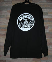 Sanger Boats Black Long Sleeve T-Shirt