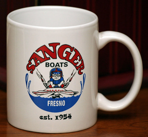 Sanger Coffee Mug White