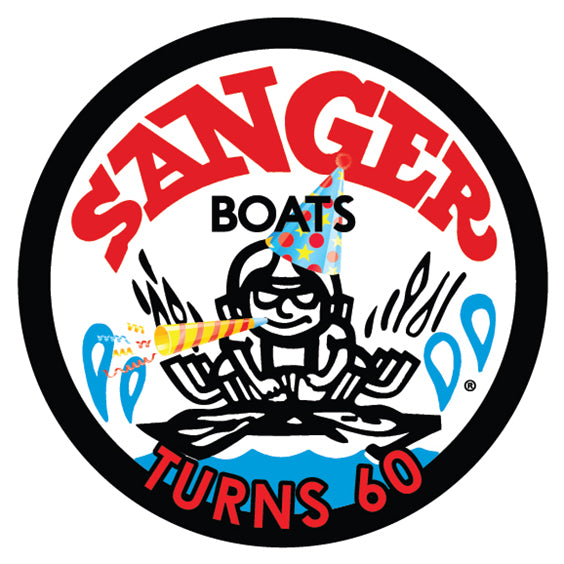 Sanger Turns 60 Decal