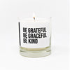 Be Grateful Scented Jar Candle