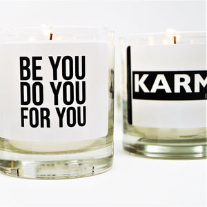 Karma Scented Jar Candle