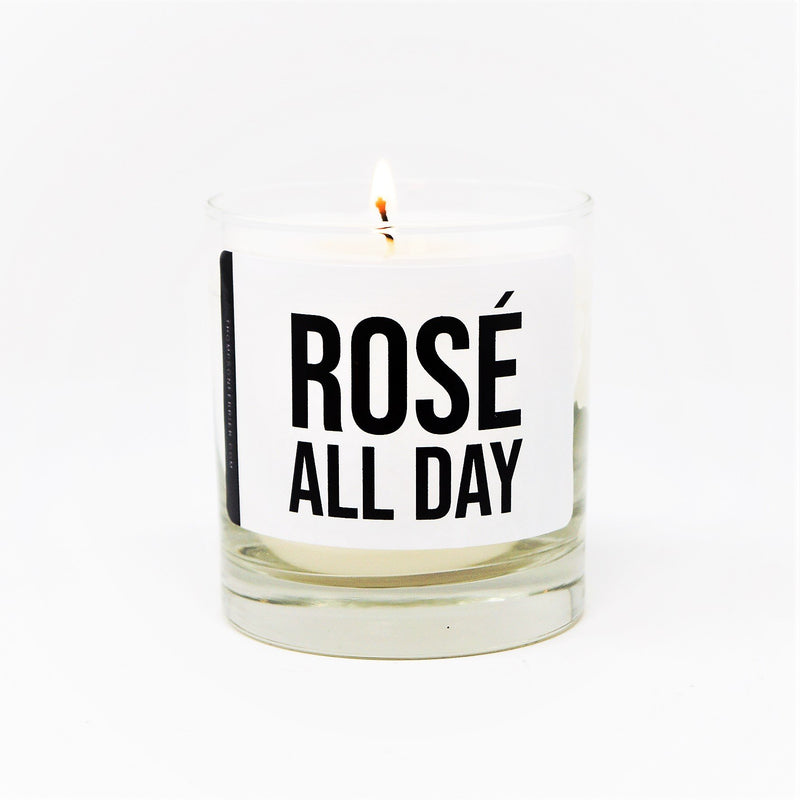 Rosé All Day Scented Jar Candle