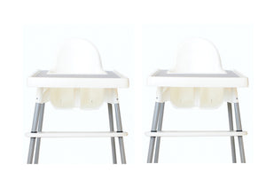 TWIN SET - Premium Footrests - Matte White