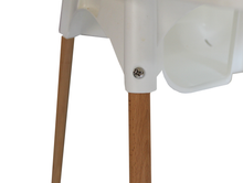 Load image into Gallery viewer, Premium beechwood legs for the IKEA Antilop highchair