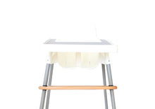 Load image into Gallery viewer, Premium Pinewood Highchair Footrest - Cream Cherry