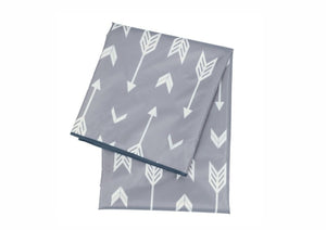Highchair Weaning Splash Mat - Grey Arrows