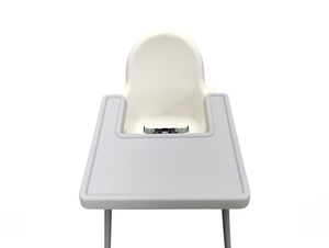 Full Tray cover for IKEA Highchair - Creamy Grey