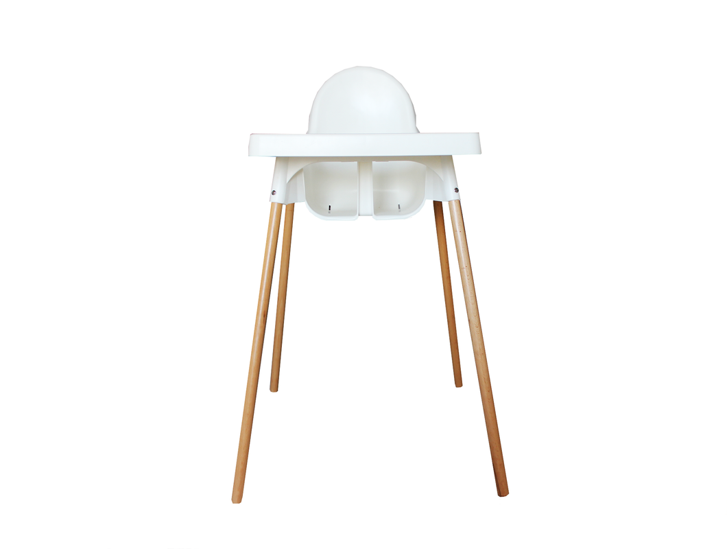 Premium beechwood legs for the IKEA Antilop highchair