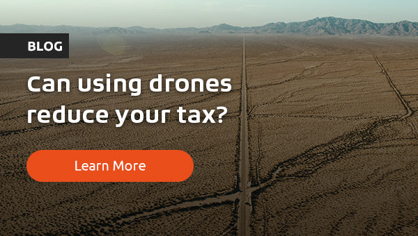 Drones: A tax deductible tool for the 21st century