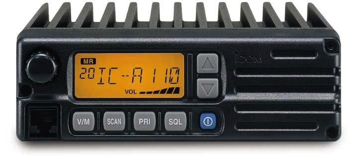 IC-A110 - ICOM Mobile VHF Radio (9Watts)