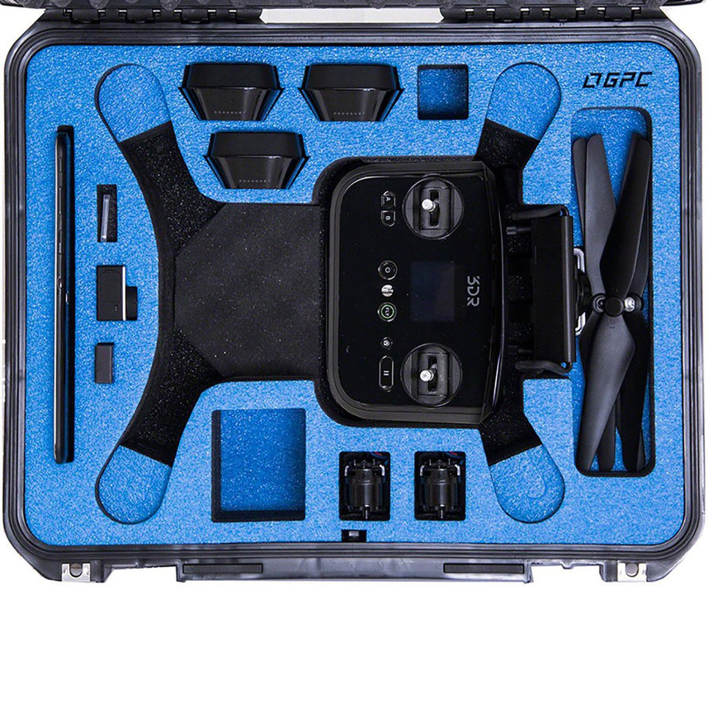 Go Professional - 3DR Solo Hard Case (w/ Wheels)