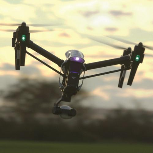 DJI Inspire 1 Transformable Quadcopter - Dual Transmitter