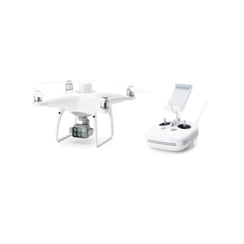 DJI Phantom 4 Multispectral + D-RTK 2 High Precision GNSS Mobile Station Combo + Tripod - Sphere