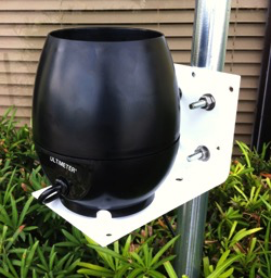 Universal Mounting Bracket for use with ULTIMETER PRO Rain Gauge - Sphere