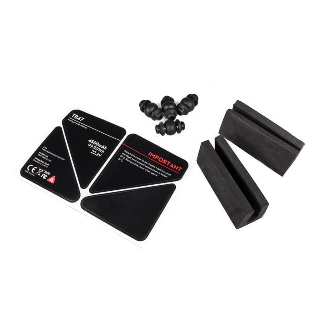 DJI Inspire 1 - Part 42 Gimbal Rubber Dampers & EVA Foam for Battery & U-EVA sticker for Remote Control - Sphere
