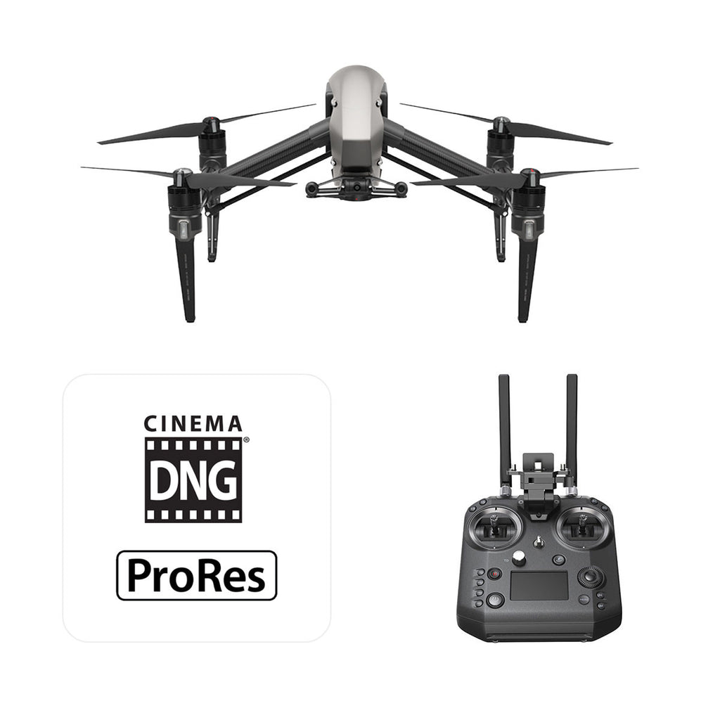 DJI Inspire 2 RAW (LC3) with Cendence Remote Controller & License (w/o camera and gimbal) - Sphere