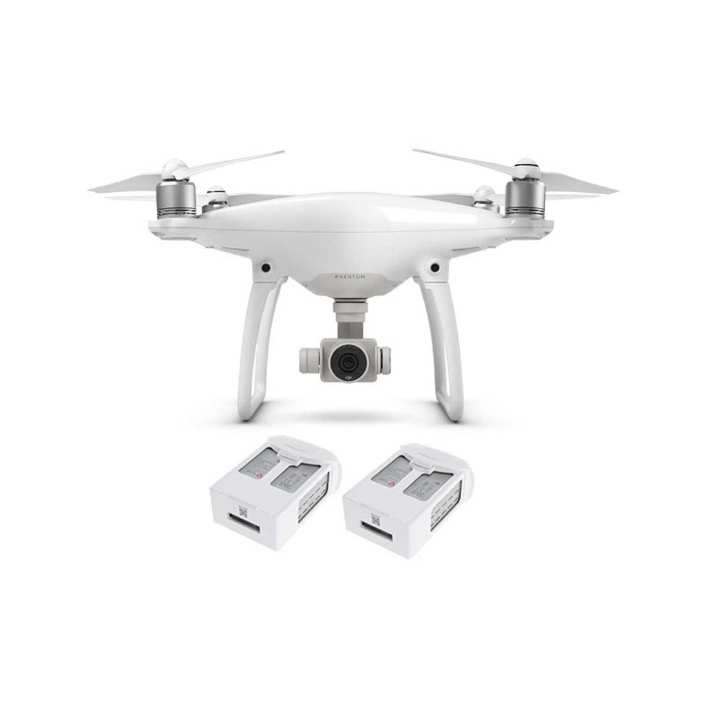 DJI Phantom 4 w/ Two Extra Batteries + (Charging Hub or Car Charger)