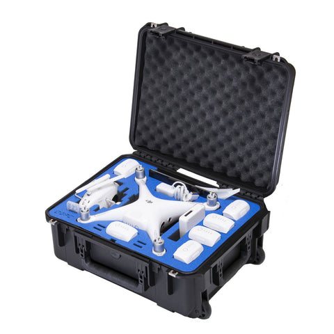 Go Professional - DJI Phantom 4 Pro Compact Wheeled Case (FITS ALL P4 MODELS)