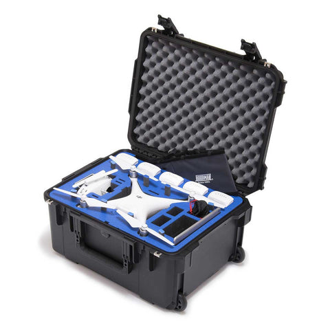 Go Professional - DJI Phantom 4 Plus Hard Case (Props On)