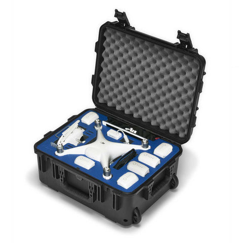 Go Professional - DJI Phantom 4 Plus Hard Case (w/ Wheels)