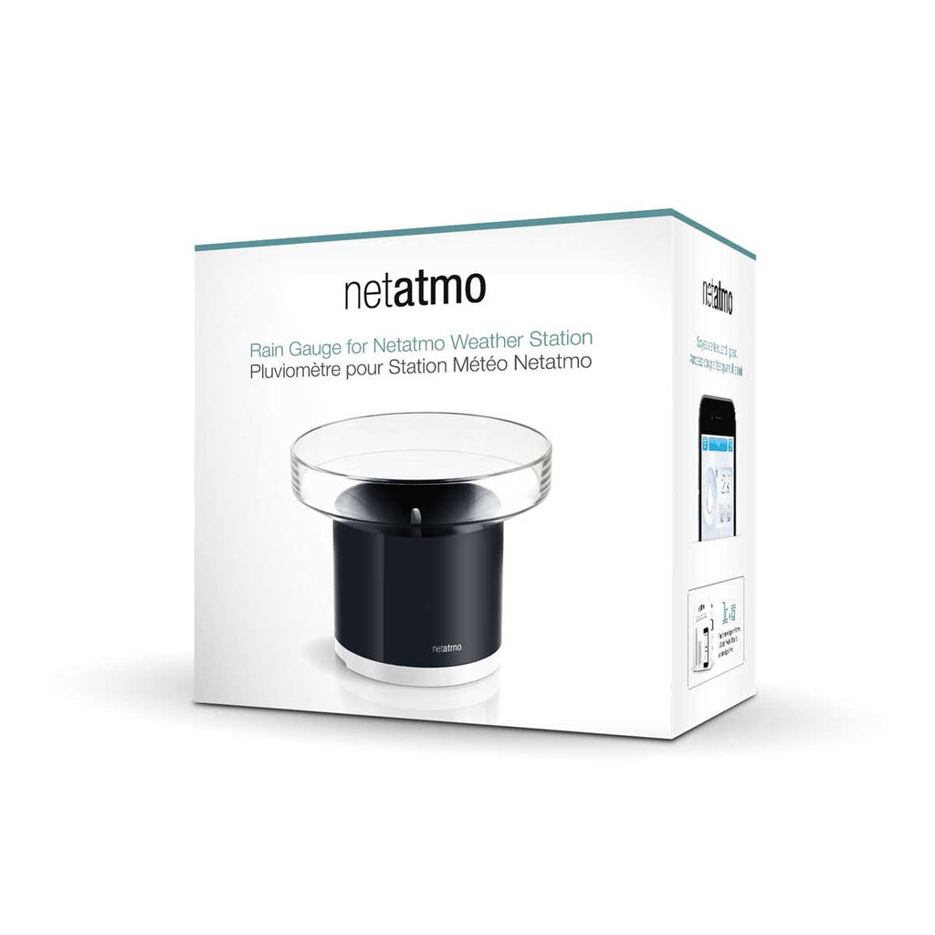NETATMO Rain Gauge for the Weather Station