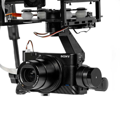 DRONExpert - Sony RX100 3 Axis Gimbal (30x Zoom)