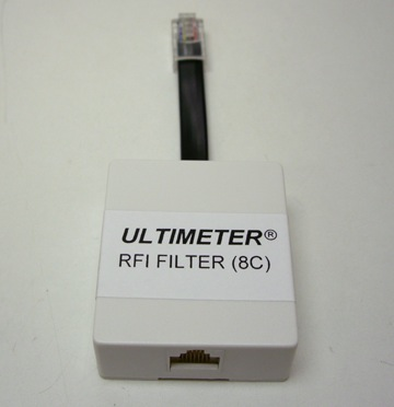 Ultimeter RFI Filter for Juction Box 8C