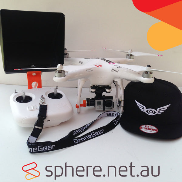DJI Phantom 2 w/H3-3D PRO FPV Drone (Built and Setup by Sphere)