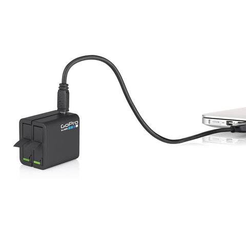 GoPro HERO4 Dual Battery Charger + Spare Battery