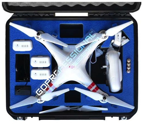 Go Professional - DJI Phantom 2 Vision + Hard Case