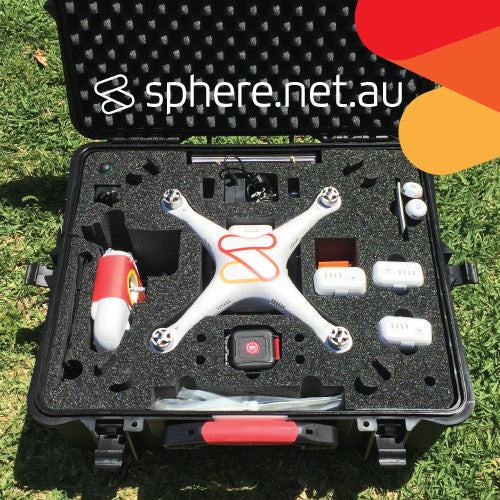 DJI Phantom 2 w/ H3-3D ULTIMATE FPV Drone (Built and Setup by Sphere) - Sphere