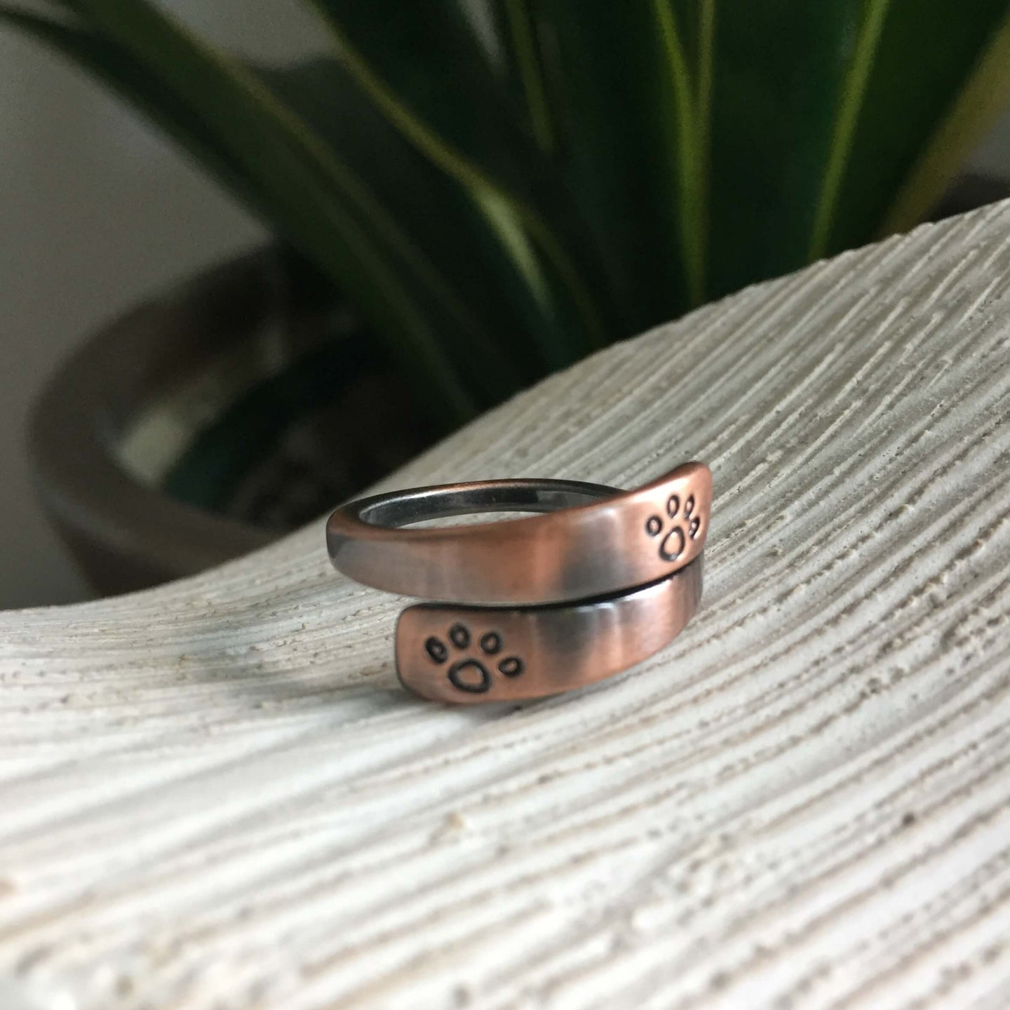 Copper Pawws Ring