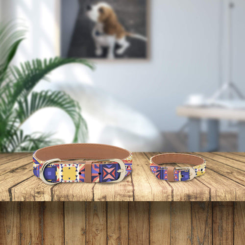 Patterned Collar and Bracelet Bundle (PRE-ORDER)