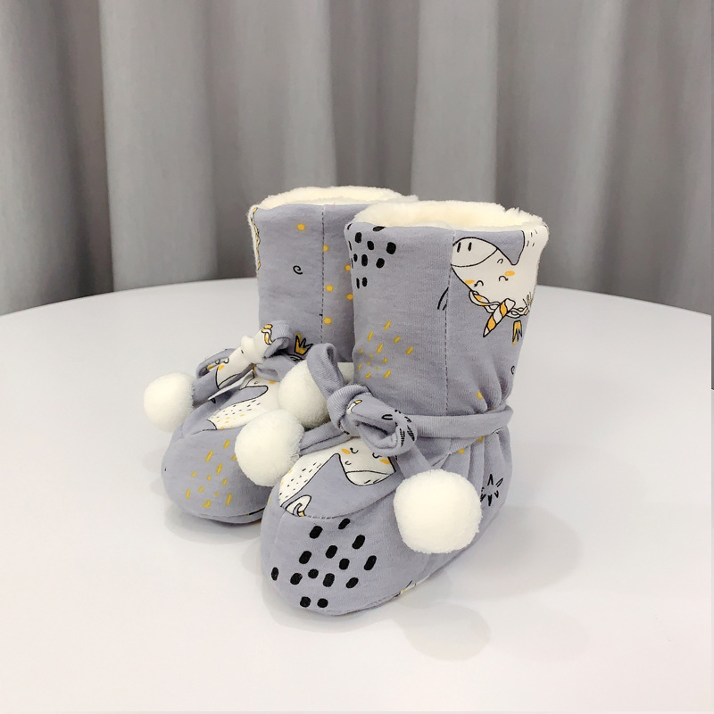 🎅50% off Christmas sale-Luvable Friends Unisex Baby Cozy Fleece Booties