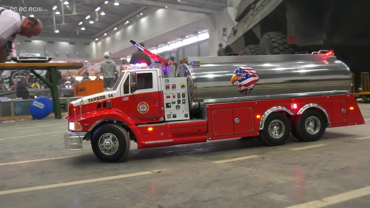 (pre-sale black friday)Super Luxury Fire Truck