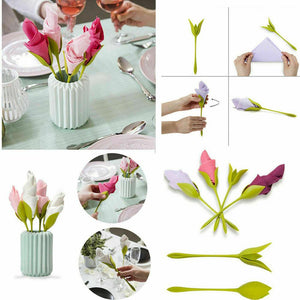 3-Second Bloom Napkin Folder