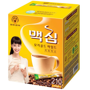 Maxim Mocha Gold Mild Coffee Mix (12g) 210 Sticks