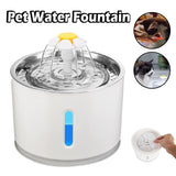 2.4L Filtered Pet Water Fountain - Dave's Deal Depot