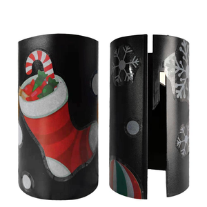 Sliding Christmas Wrapping Paper Cutter