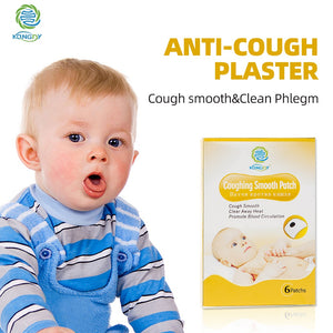 Herbal Anti-Cough&Phlegm Patch 6Pieces/Box - Dave's Deal Depot
