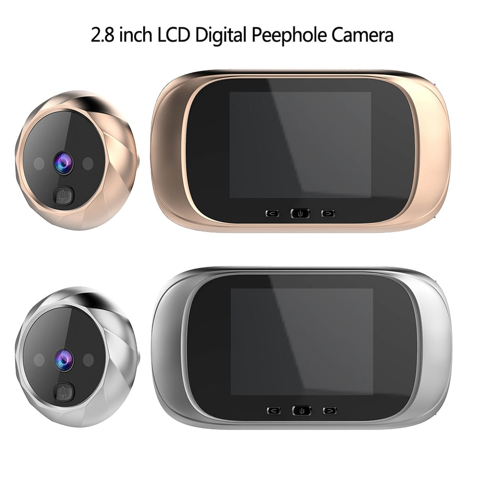 Electronic Peephole Door Camera / Door Bell - Dave's Deal Depot