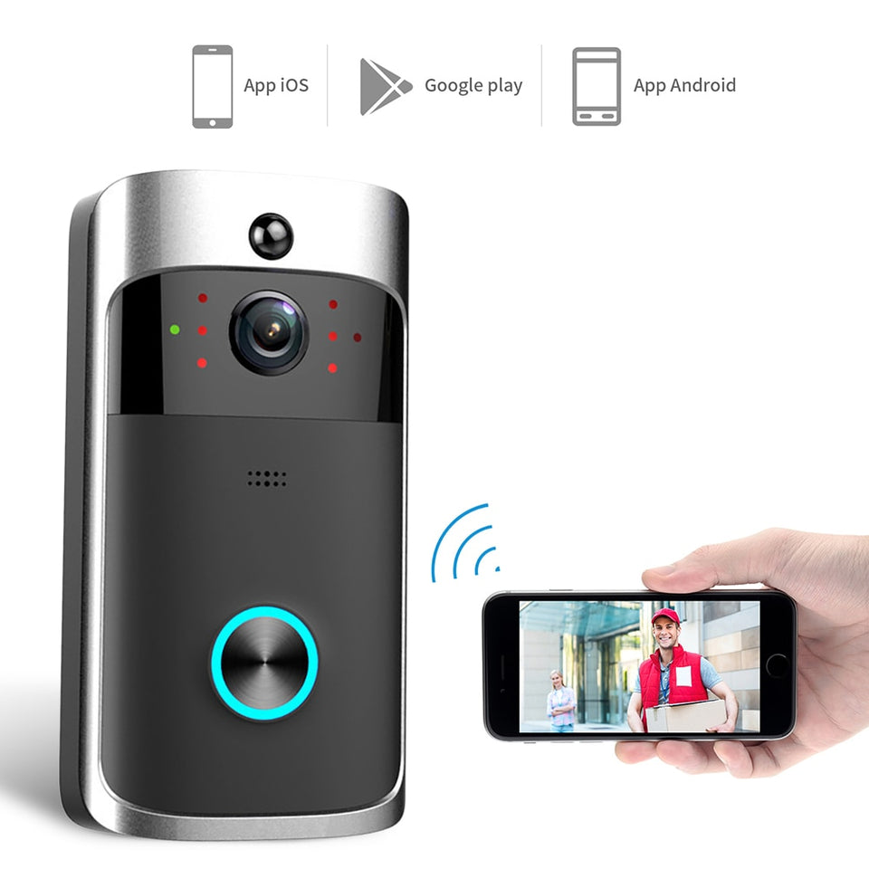 Smart Wifi Door Bell - Dave's Deal Depot