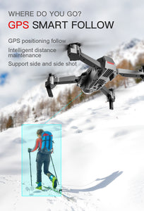 GPS 4K HD Dual Camera Foldable Quadcopter Drone - Dave's Deal Depot