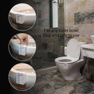 Motion Activated LED Toilet Night Light/ UV Sterilizer - Dave's Deal Depot