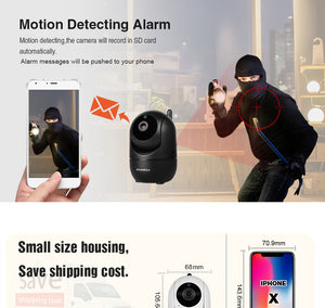 HD Wireless Cloud Intelligent IP Camera - Dave's Deal Depot
