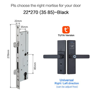Biometric Smart Door Lock - Dave's Deal Depot