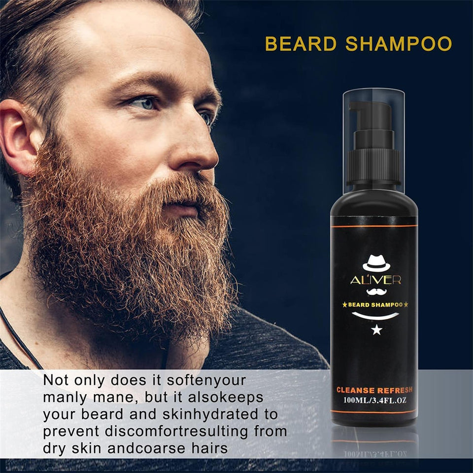 5pcs Beard Growth Kit - Dave's Deal Depot