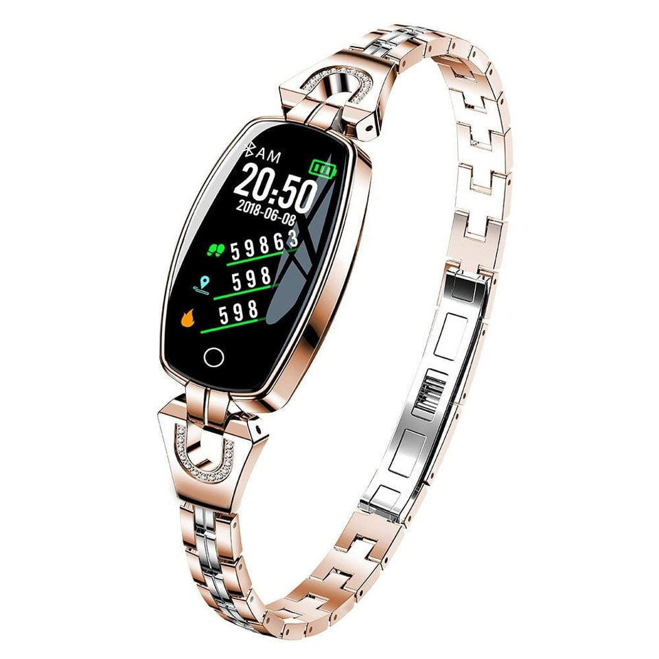 Women Waterproof Blood Pressure Monitor Smartband - Dave's Deal Depot